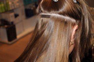 hår extensions frisør priser